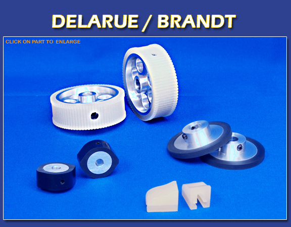 Delarue/Brandt Currency Counter Parts